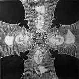 "The Four Wives, 2013 pencil on paper 30"" w X 30""h 76.2cm X 76.2cm"